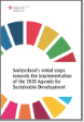 Publikation Switzerland's initial steps towards the implementation of the 2030 Agenda for Sustainable Development
